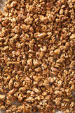 Homemade healthy granola background Stock Images