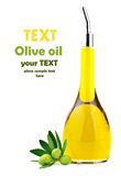 Homemade healthy olive oil Royalty Free Stock Images