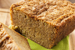 Homemade Healthy Zucchini Bread Royalty Free Stock Photography