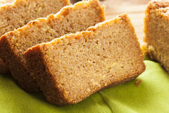 Homemade Healthy Zucchini Bread Royalty Free Stock Photos