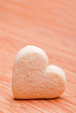 Homemade heart cookies Stock Photo