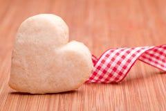 Homemade heart Stock Images