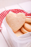 Homemade heart Royalty Free Stock Images