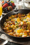 Homemade Hearty Breakfast Skillet Royalty Free Stock Images