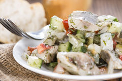 Homemade Herring Salad Royalty Free Stock Images