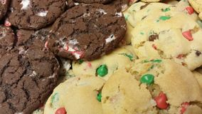 Homemade holiday cookies Stock Images