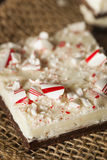 Homemade Holiday Peppermint Bark Royalty Free Stock Image