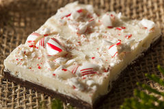 Homemade Holiday Peppermint Bark Royalty Free Stock Photos