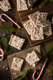Homemade Holiday Peppermint Bark Stock Image