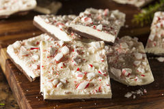 Homemade Holiday Peppermint Bark Royalty Free Stock Images