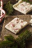 Homemade Holiday Peppermint Bark Stock Photos
