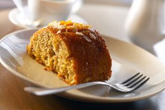 Homemade honey cake Stock Images
