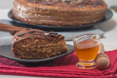Homemade honey cakes Stock Photography