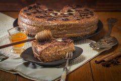 Homemade honey cakes Royalty Free Stock Image