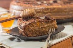 Homemade honey cakes Stock Photos