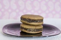 Homemade honey cookies Stock Photo