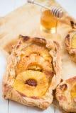 Homemade honey-glazed pineapple tarts Stock Photos
