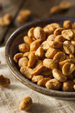 Homemade Honey Roasted Peanuts Royalty Free Stock Photo