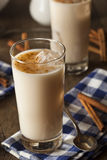 Homemade Horchata with Cinnamon Stock Photography