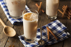 Homemade Horchata with Cinnamon Stock Images