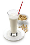 Homemade horchata and tiger nuts Stock Photo