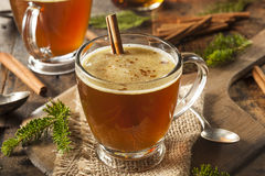 Homemade Hot Buttered Rum. For the Holidays Royalty Free Stock Images