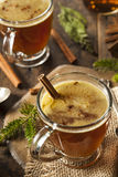 Homemade Hot Buttered Rum Royalty Free Stock Image