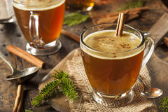 Homemade Hot Buttered Rum Royalty Free Stock Images