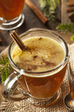 Homemade Hot Buttered Rum Stock Photography
