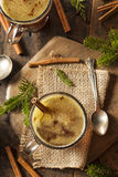 Homemade Hot Buttered Rum Stock Images