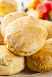 Homemade Hot Buttermilk Biscuits Royalty Free Stock Photos