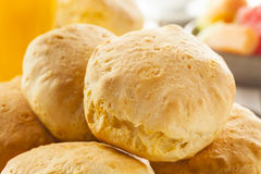 Homemade Hot Buttermilk Biscuits. To eat at Breakfast Stock Image