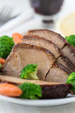 Homemade hot pork with vegetables Royalty Free Stock Photos