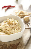 Homemade Hummus of chickpea Royalty Free Stock Photos