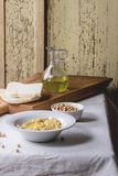 Homemade hummus Royalty Free Stock Photos