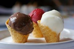 Homemade ice cream Royalty Free Stock Photography