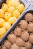 Homemade ice cream in box Stock Photography