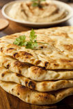 Homemade Indian Naan Flatbread Royalty Free Stock Image