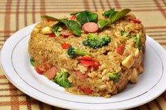 Homemade Indonesian Fried Rice Stock Image