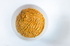 Homemade Instant noodles Stock Photo