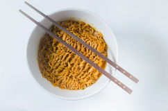 Homemade Instant noodles Royalty Free Stock Photography