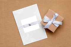Homemade invitation Royalty Free Stock Images