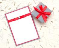 Homemade invitation Stock Photos