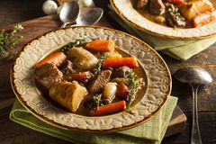 Homemade Irish Beef Stew Royalty Free Stock Image