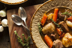 Homemade Irish Beef Stew Royalty Free Stock Photography