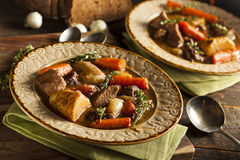 Homemade Irish Beef Stew Royalty Free Stock Photos