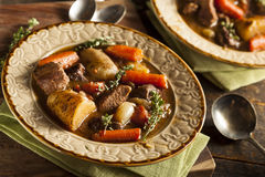 Homemade Irish Beef Stew Royalty Free Stock Images