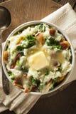Homemade Irish Potato Colcannon Stock Photos