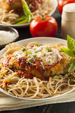 Homemade Italian Chicken Parmesan Royalty Free Stock Images