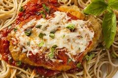 Homemade Italian Chicken Parmesan Royalty Free Stock Photography